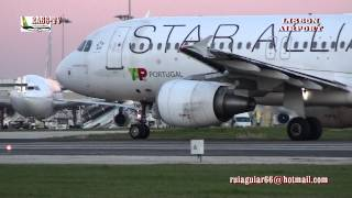 HD TV AIRPORT Aeroporto de Lisboa Lisbon Airport aircraft takeoff landing at Madeira Airport