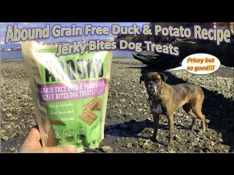 abound-grain-free-duck-&-potato-recipe-jerky-bites-dog-treats