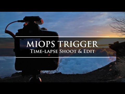 MIOPS Trigger Timelapse Shoot and Edit
