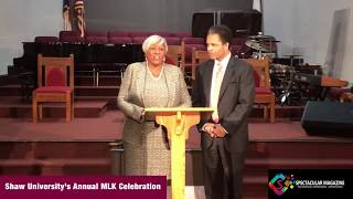 [VIDEO GALLERY] Shaw University's Annual MLK Celebration