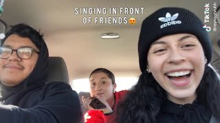 Singing In Front Of My Friends And Their Reaction Is Priceless Compilation😍🥰