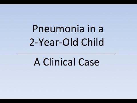 pneumonia 2 year old