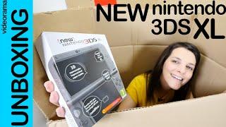 New Nintendo 3DS XL unboxing en español