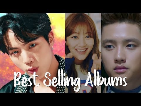 (Top 100) Best Selling KPop Albums in 2017