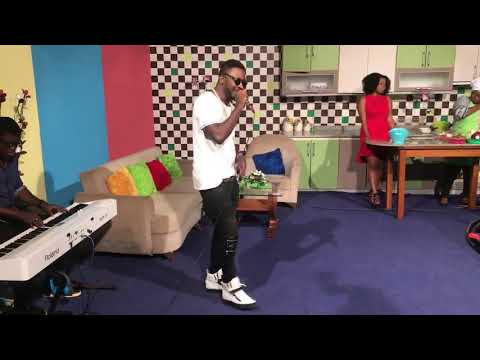 Tzy Panchak Performs Mad 4 Yu Luv live on CRTV