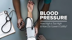 Blood Pressure: How High is Too High and How Do I Lower it Safely?
