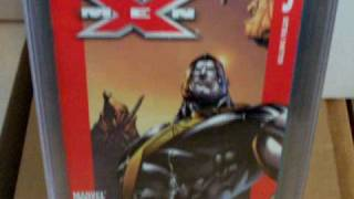 marvel ultimate x men comic collection with cgc graded comics