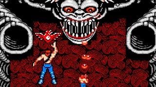 Super Contra Video Game NES 1988 / Juego completo