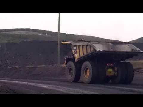 Haul Truck BC Coal Mine Brule