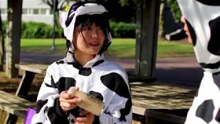 のうりんむら牛乳班CM『瞬間牛キュン!』 陸上部(牛)を舞台に青春あふれ...