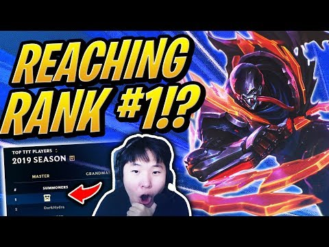 REACHING THE #1 RANK IN TFT!? | Teamfight Tactics | League of Legends Auto Chess