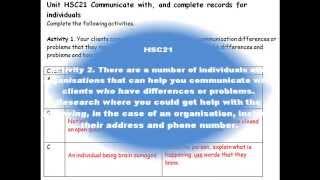 qcf nvq level 2 health social care unit 21 answers