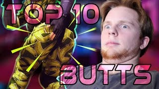 Top 10 Butts in Video Games - Nitro Rad