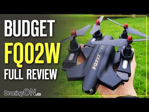 DroningON   FQ02W Drone Unboxing, Inspection & Flight Test