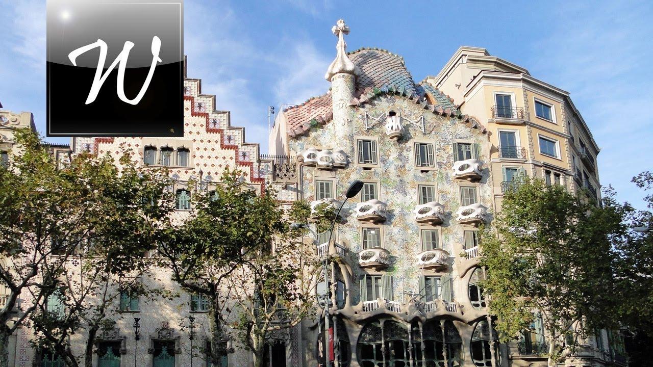 Casa Batll Barcelona HD  YouTube