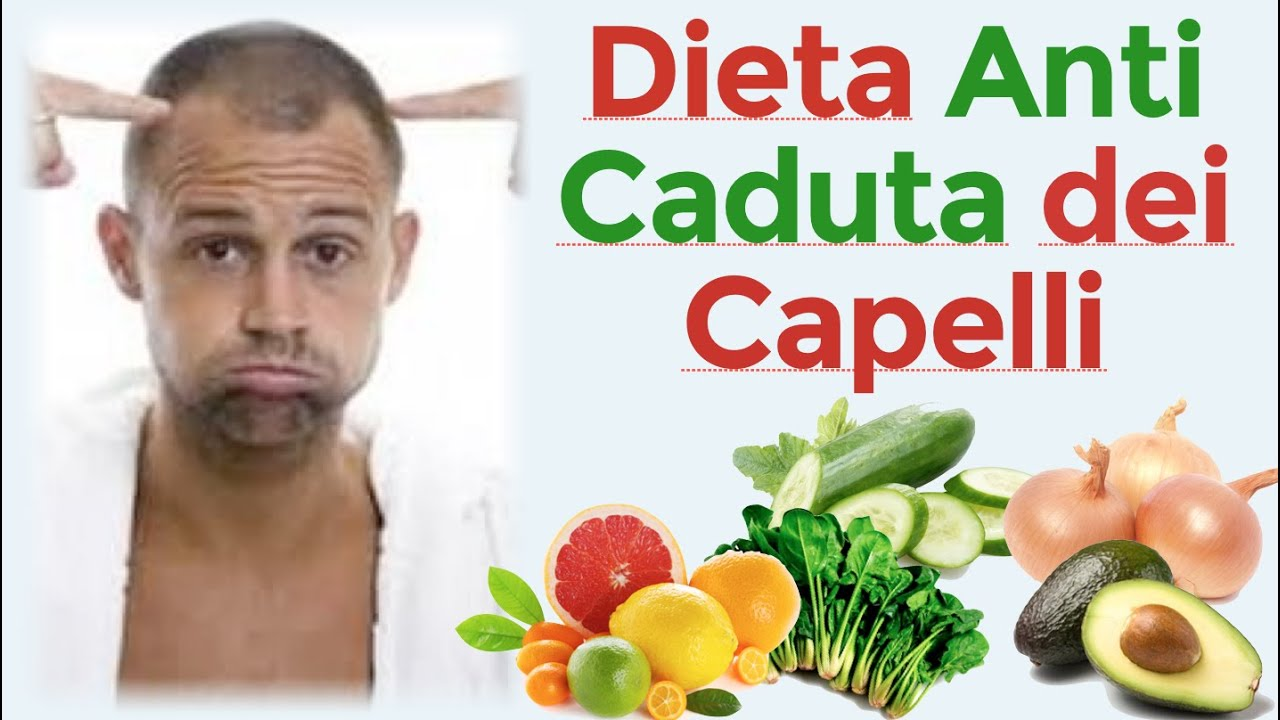 La miglior dieta contro la caduta dei capelli    L  alimentazione adatta  contro la calvizie 084b545d10a5
