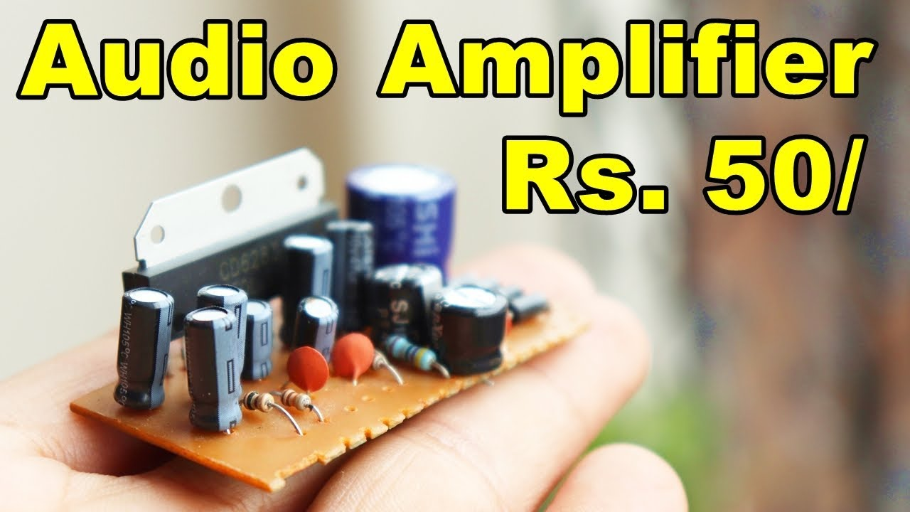 Rs55 Audio Amplifier Circuit Board How To Connect All Wire In 100wvariableresistorsimulator Amplifiercircuit