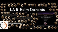 Discussion: Labyrinth Helm Enchantments - 493 ways to RNG some POE currency