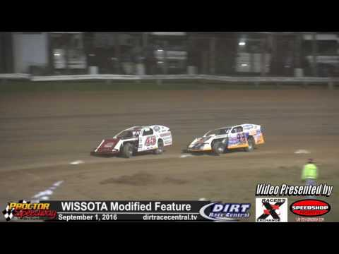 Proctor Speedway 9/1/16 Silver 1000 Modified Highlights