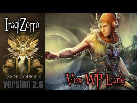 IraqiZorro | Vox WP Lane - Vainglory hero gameplay from a pro player
