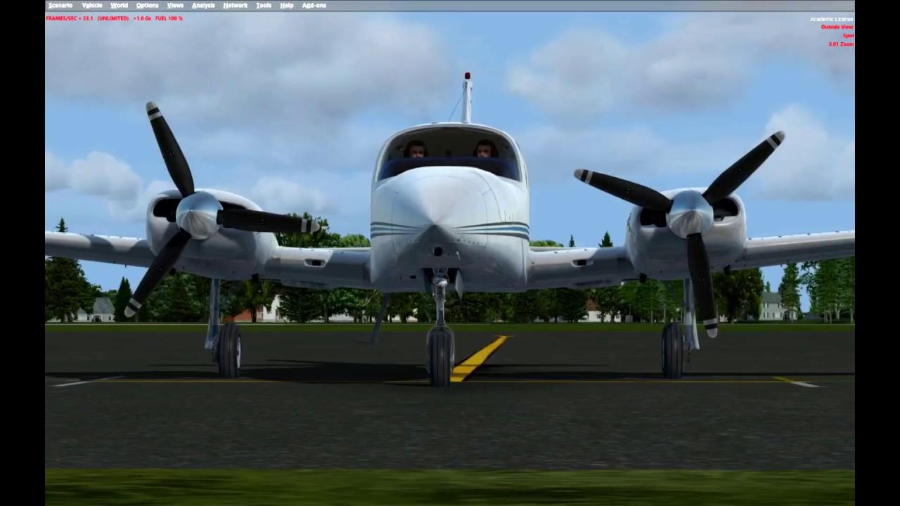 FSX SE] Alabeo Cessna 310R FSX & P3D - Product Review