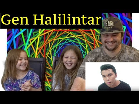 DAD AND DAUGHTERS REACTIONS TO Havana - Camila Cabello - Gen Halilintar (Cover) 10 Kids & Mom
