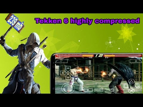 How to download Tekken 6 highly compressed ISO file in PSP by game planet  Ashish