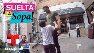 Suelta La Sopa | Sebastián Rulli y su hijo pasean con Angelique Boyer | Entretenimiento