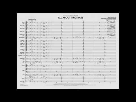 All About That Bass arranged by Paul Murtha