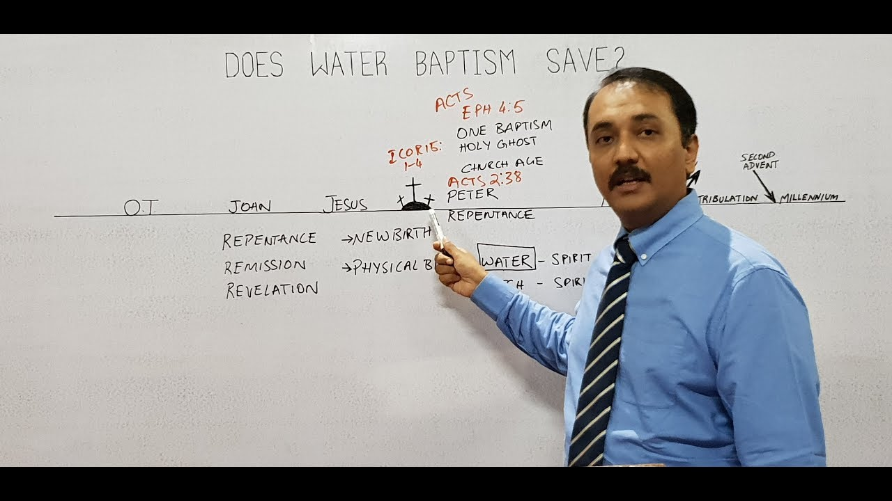 medium resolution of does water baptism save