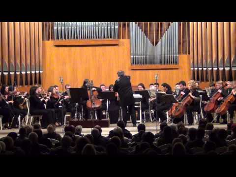 George Enescu Simfonia concertante for Cello and Orchestra