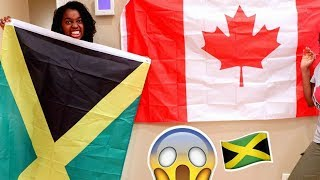 SURPRISE CANADIAN JAMAICAN BIRTHDAY PARTY!