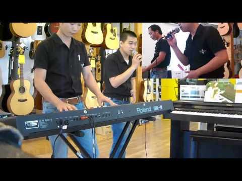 Đàn organ Roland BK9: Demo điệu Con Bướm Xinh