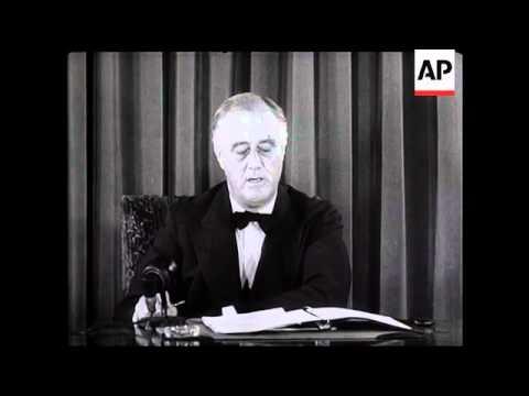 President Roosevelt On