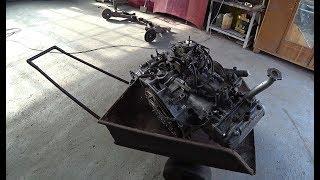 Новый-старый двигатель для Субару Леон.