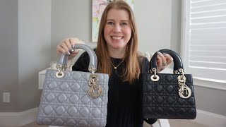 Comparison of the Classic Medium Lady Dior to the Small My Lady Dior! Mod Shots!
