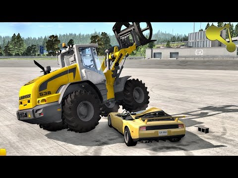 Self-healing car crashes and regeneration of them BeamNG.Drive