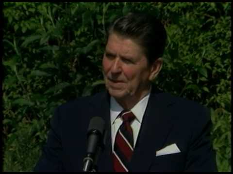 President Reagan's Press Briefing from Winfield House on June 10, 1984