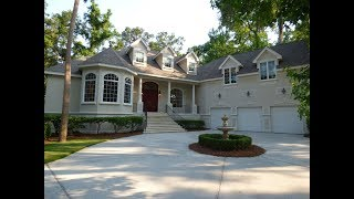 Large Long Cove Home For Sale On Hilton Head Island With Four Bedrooms And Garage For Three Cars
