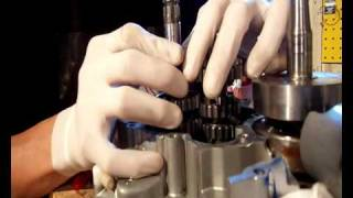 Démontage, remontage et nettoyage de boite de vitesse derbi euro 2
