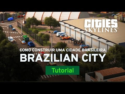 How to Build a Brazilian City with HomineK1 | International Tutorial | Cities: Skylines