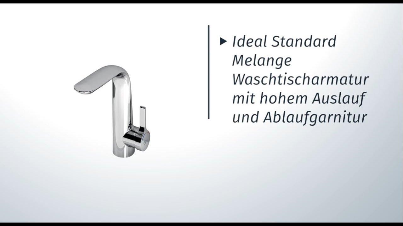 Skybad Ideal Standard Melange Waschtischarmatur A6041aa Youtube