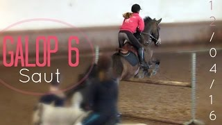 Examen galop 6 - Obstacle (Avril 2016)