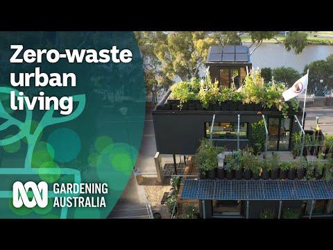 Self sustainable zero waste productive home in Melbourne demonstrates future | Gardening Australia