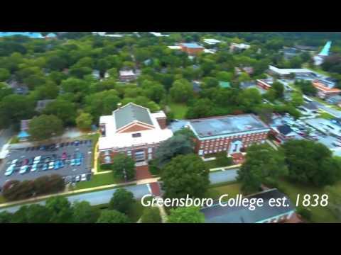 Greensboro College Aerial View