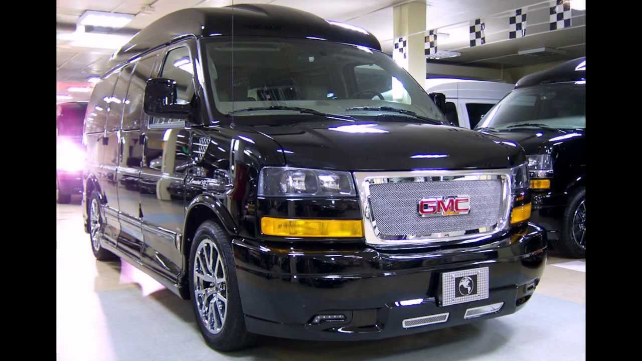 2014 GMC Savana AWD Limited - YouTube