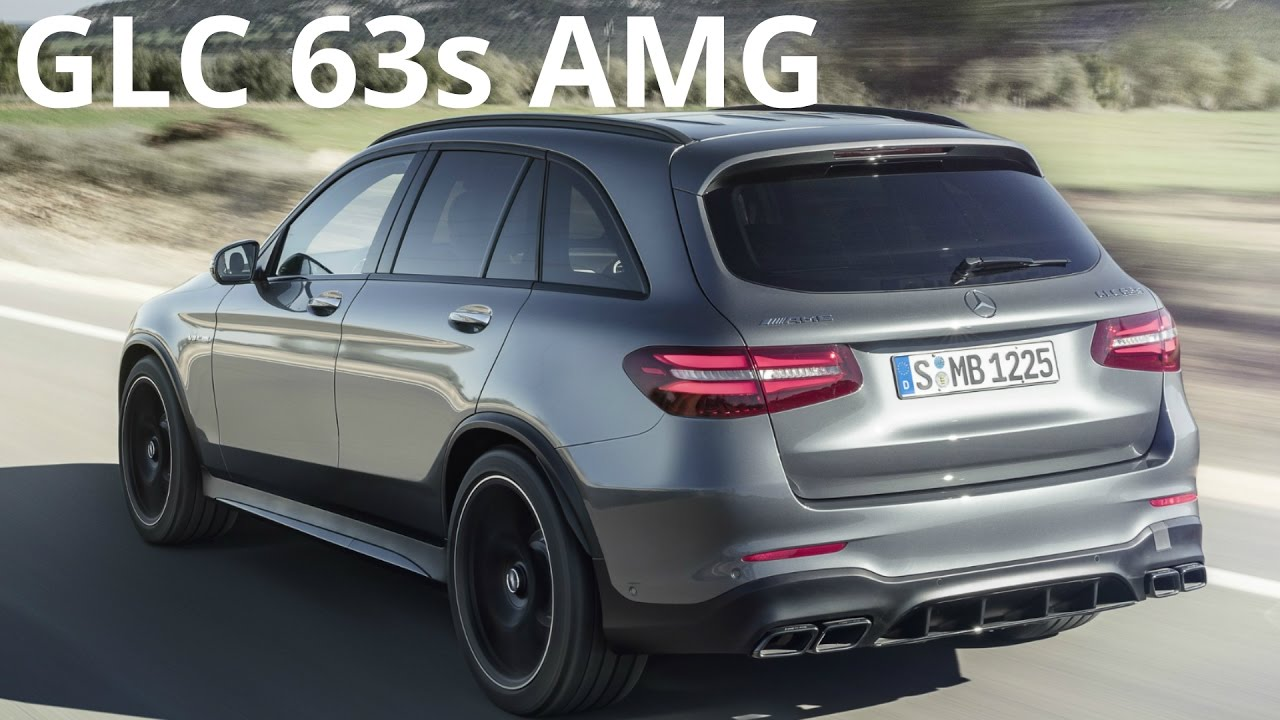 2017 Mercedes Glc 63 S Amg 4matic Exhaust Sound 700 Nm 510 Hp