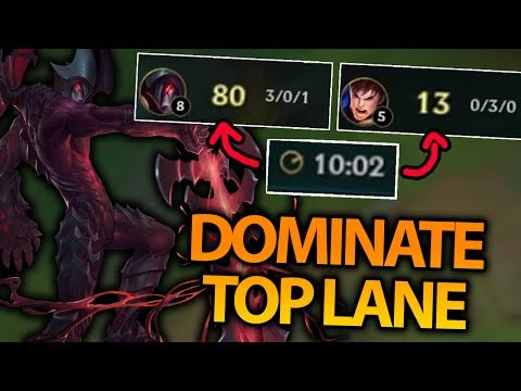 THIS IS HOW YOU COMPLETELY DOMINATE TOP LANE! AATROX TOP SEASON 7 - League of Legends