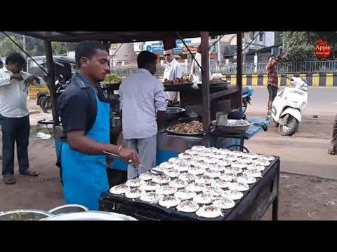 Amazing Hotel in kakinada 54 Sponge dosa in Single Paan || Apple Street Food