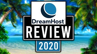 DreamHost Review 2020 Pros And Cons Of DreamHost Web Hosting HONEST REV EW
